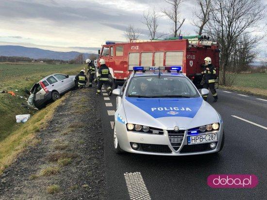 Wypadek w Kołaczowie
