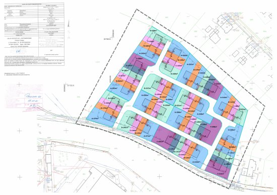 Nowe osiedle domów jednorodzinnych w Bielawie
