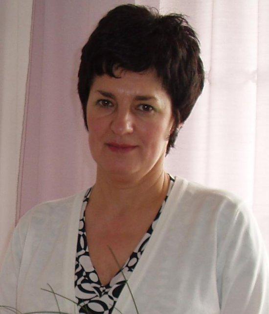 Krystyna Marczak Przewodnicząca Rady Gminy Łagiewniki V kadencji w latach 2006 - 2010