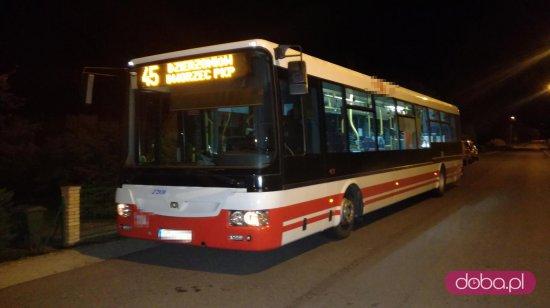 uszkodzony autobus
