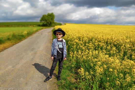 Depeche mode z Bielbawem w tle