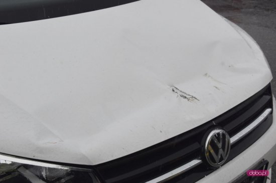 Zderzenie pojazdów na strefie ekonomicznej