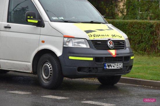 Zderzenie trzech pojazdów w Dzierżoniowie