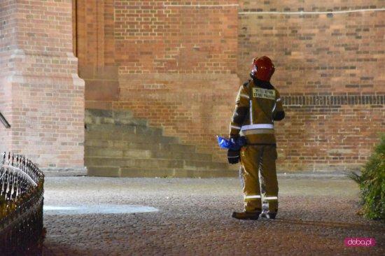Interwencja strażaków na bielawskim kościele