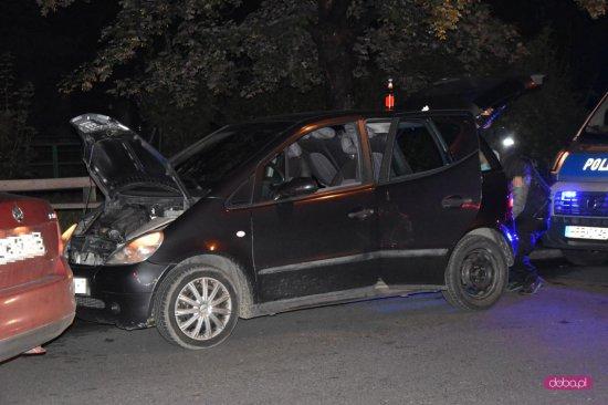 Akcja policji na ul. Wolności w Bielawie