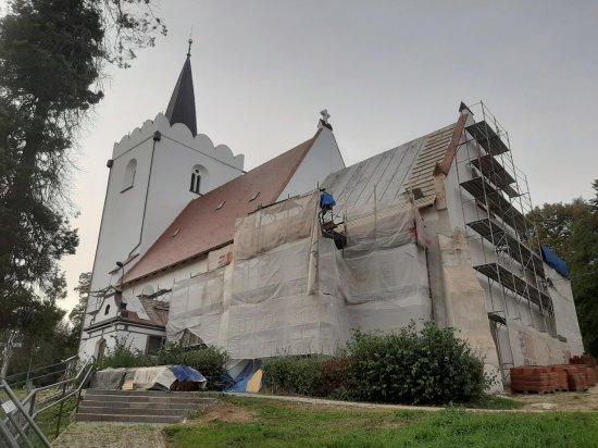 Kolejne środki z Fundacji KGHM Polska Miedź S.A. na remont Sanktuarium w Kiełczynie