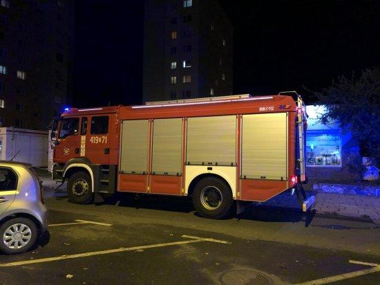 Straż pożarna na ul. Wolności w Bielawie