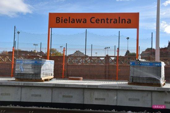 Przystanek kolejowy Bielawa Centralna na ukończeniu