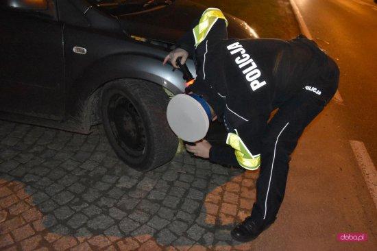 Zderzenie trzech aut w Piławie Dolnej
