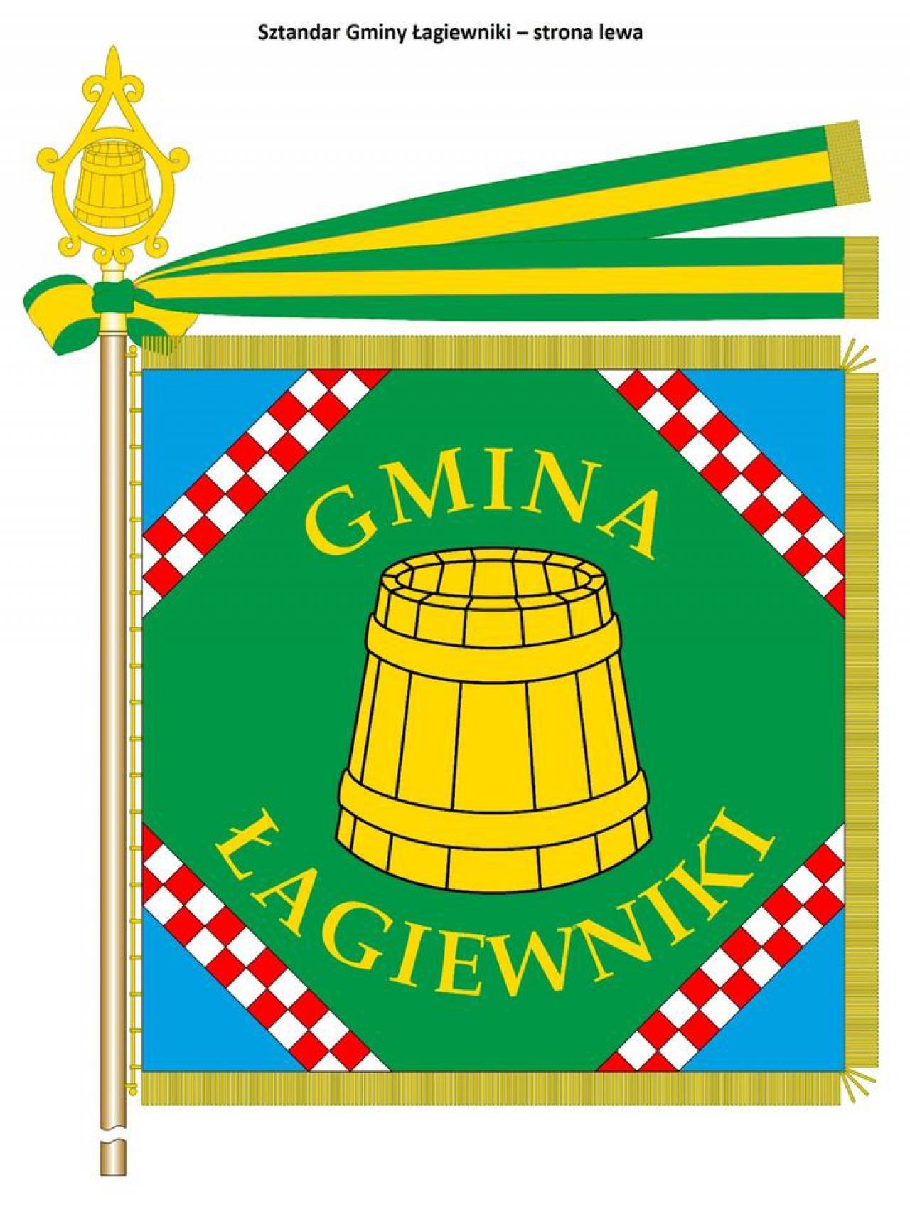 Nowy herb gminy Łagiewniki