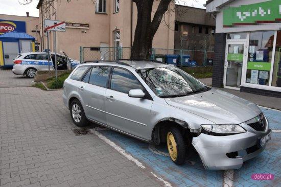Pijany kierowca mazdy w Pieszycach