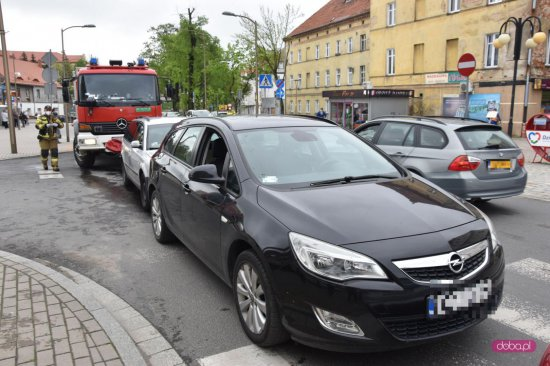 Kolizja na ulicy Piłsudskiego