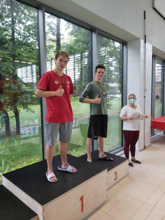KS BALTI na Otwartych Letnich Mistrzostwach Dolnego Śląska w Pływaniu