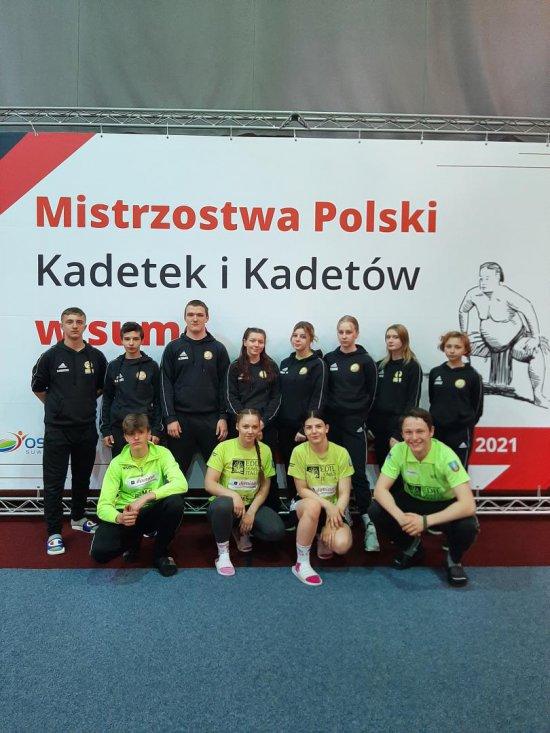 Medalowe żniwo sumitów w Mistrzostwach Polski Kadetów