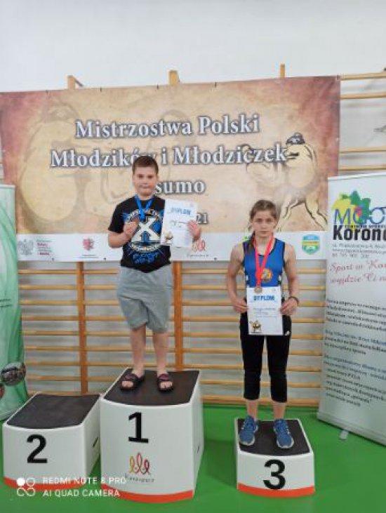 Młodzicy walczyli w Mistrzostwach Polski w Sumo
