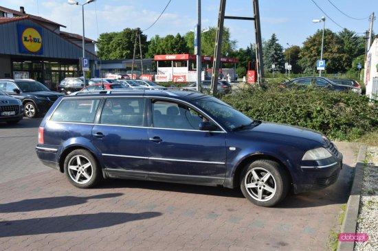 Zderzenie pojazdów na parkingu Lidla
