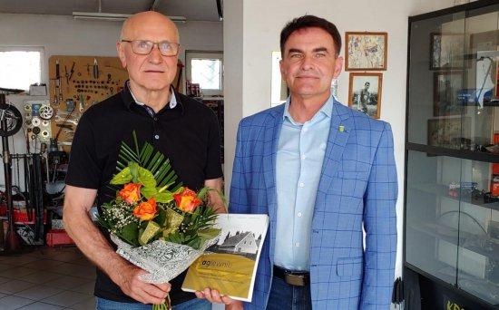 70. urodziny znakomitego sportowca z Olesznej