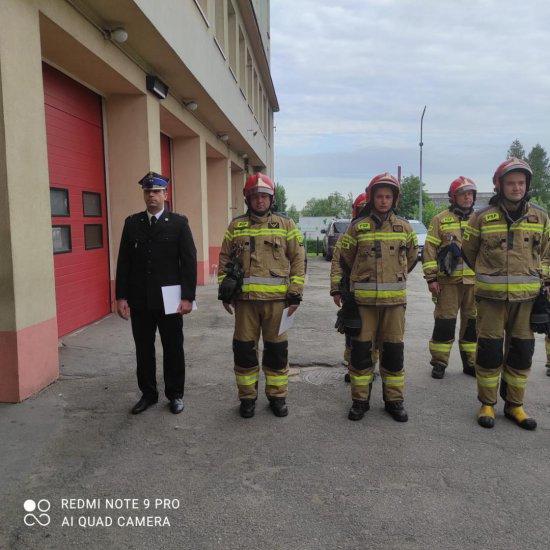 Zmiany w kierownictwie Jednostki Ratowniczo-Gaśniczej w Dzierżoniowie
