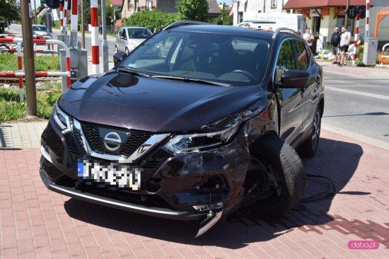 Zderzenie dwóch pojazdów w Bielawie