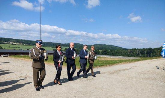 Terytorialsi uczcili Obchody Narodowego Dnia Pamięci Ofiar Niemieckich Nazistowskich Obozów Koncentracyjnych
