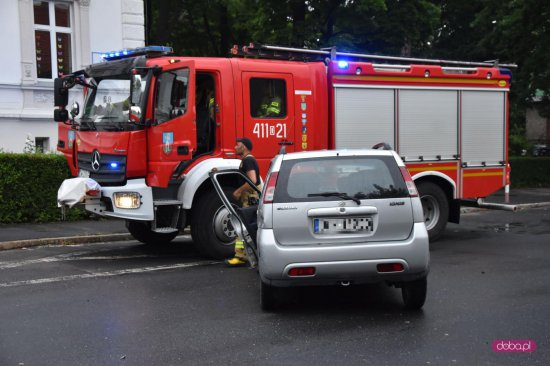 Wypadek w Bielawie