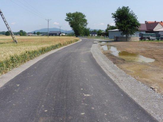 Zakończenie przebudowy ulicy Widokowej we Włókach