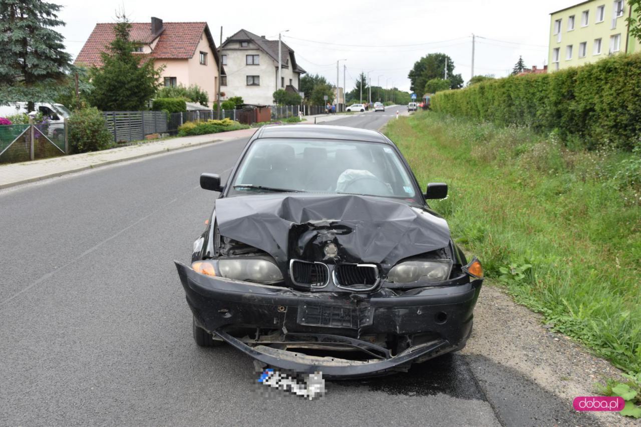 Wypadek w Dobrocinie