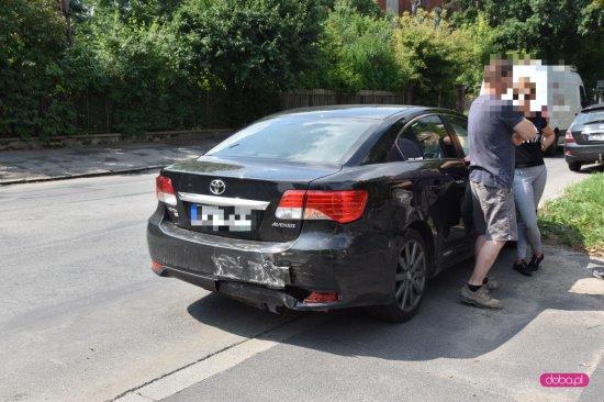 Zderzenie pojazdów na Kilińskiego w Dzierżoniowie