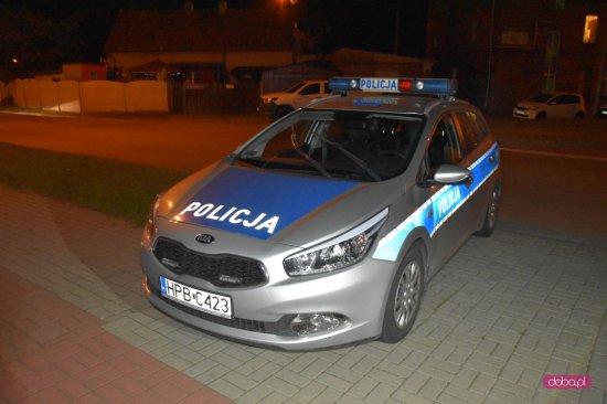 Akcja policji na ul. Zachodniej w Dzierżoniowie