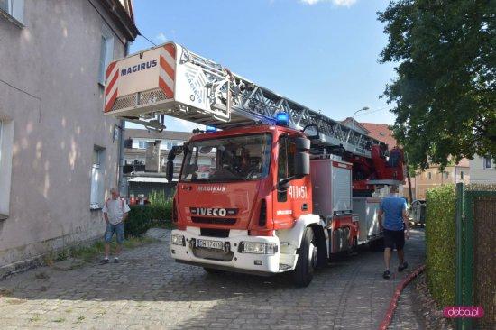 Pożar w Bielawie