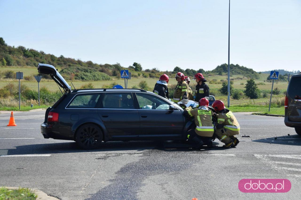 Wypadek na bielawskiej obwodnicy