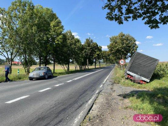 Kolizja na drodze Dzierżoniów - Świdnica
