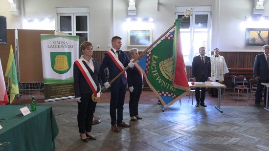 Sztandar Gminy Łagiewniki