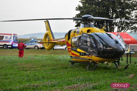 Śmiertelny wypadek na DK-8 przed Niemczą