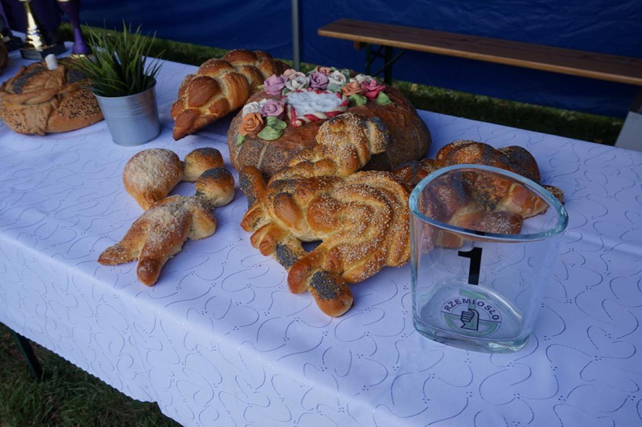 Konkurs chleba przygotowany przez bielawski Cech