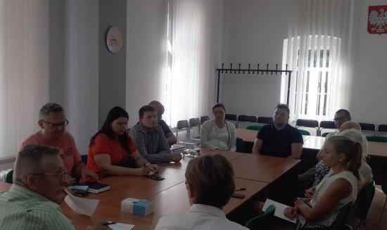 Niemcza: spotkanie robocze burmistrza i radnych