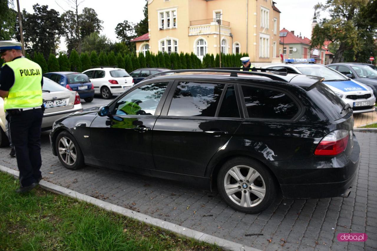 Zderzenie pojazdów na Batalionów Chłopskich w Dzierżoniowie