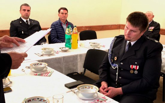Zebranie sprawozdawczo-wyborcze w OSP Sienice