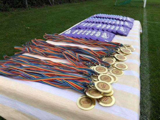 II Powiatowe igrzyska dla dzieci z UKS Siódemka Bielawa