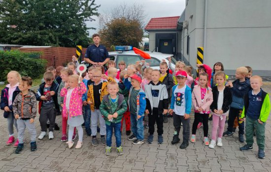 Łagiewnicki dzielnicowy edukował dzieci