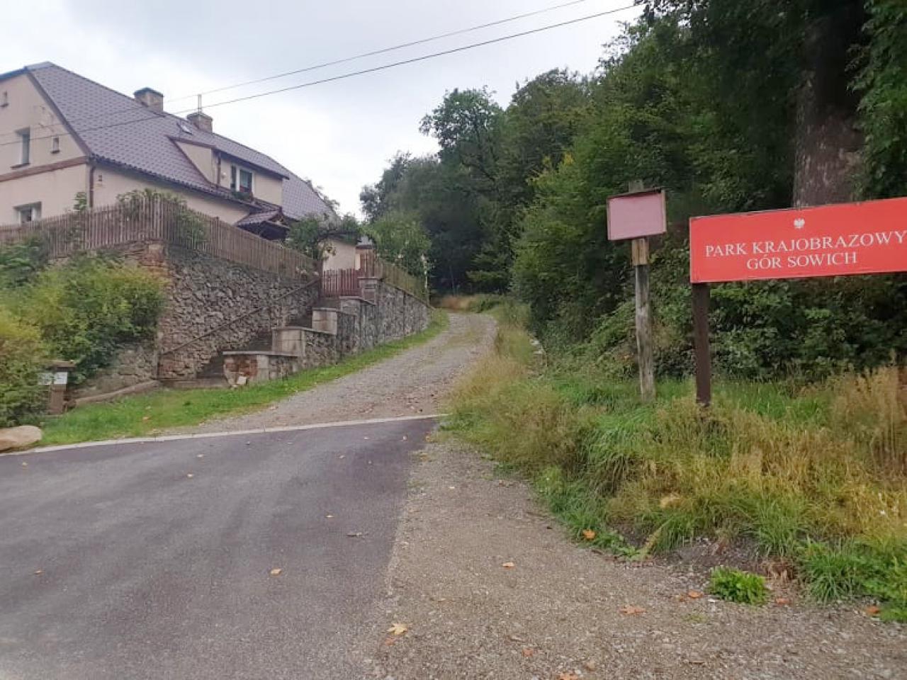 Rozwiązano problem spływającej na jezdnię wody i ściółki leśnej w Pieszycach