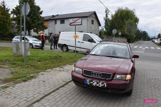 Zderzenie pojazdów na Korczaka