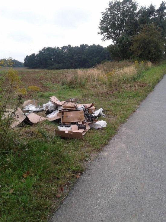 Kolejne nielegalne wysypisko śmieci. Sprawca ujawniony!