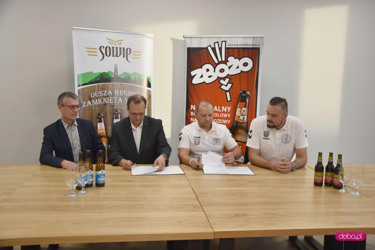 MKS Żagiew Dzierżoniów ma sponsora tytularnego