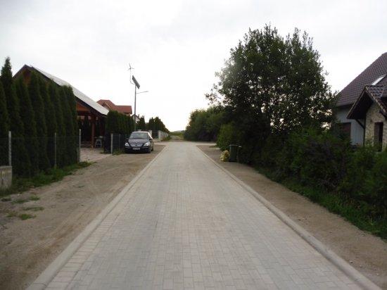 Ulica Słoneczna we Włókach przebudowana