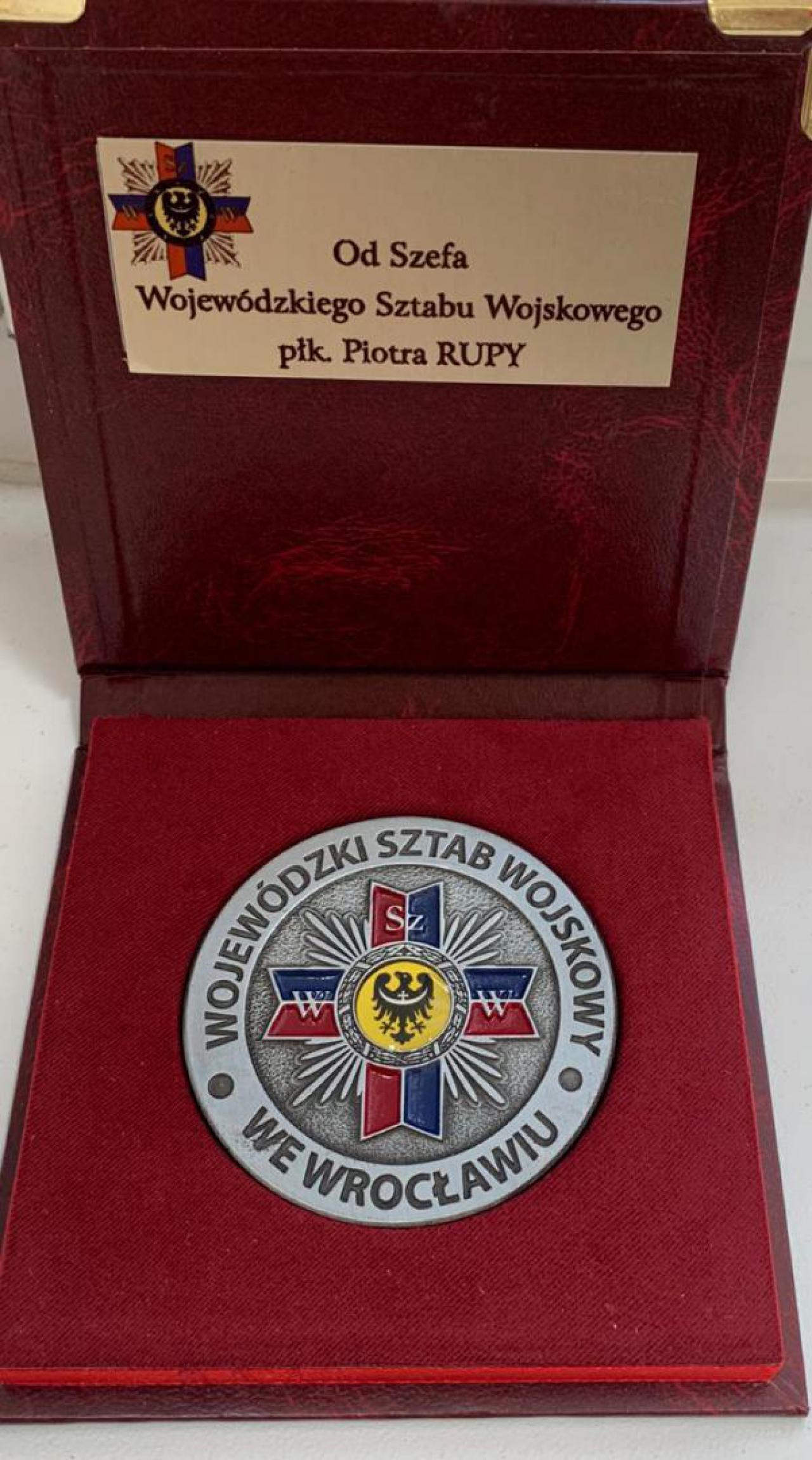Odznaka dla Zdzisława Maciejewskiego