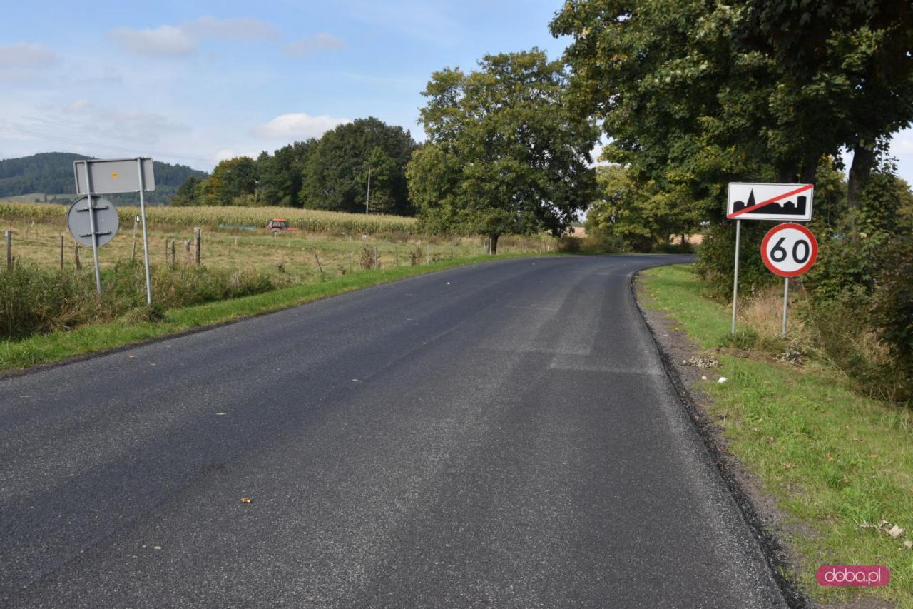 Jesienne inwestycje na drogach powiatowych