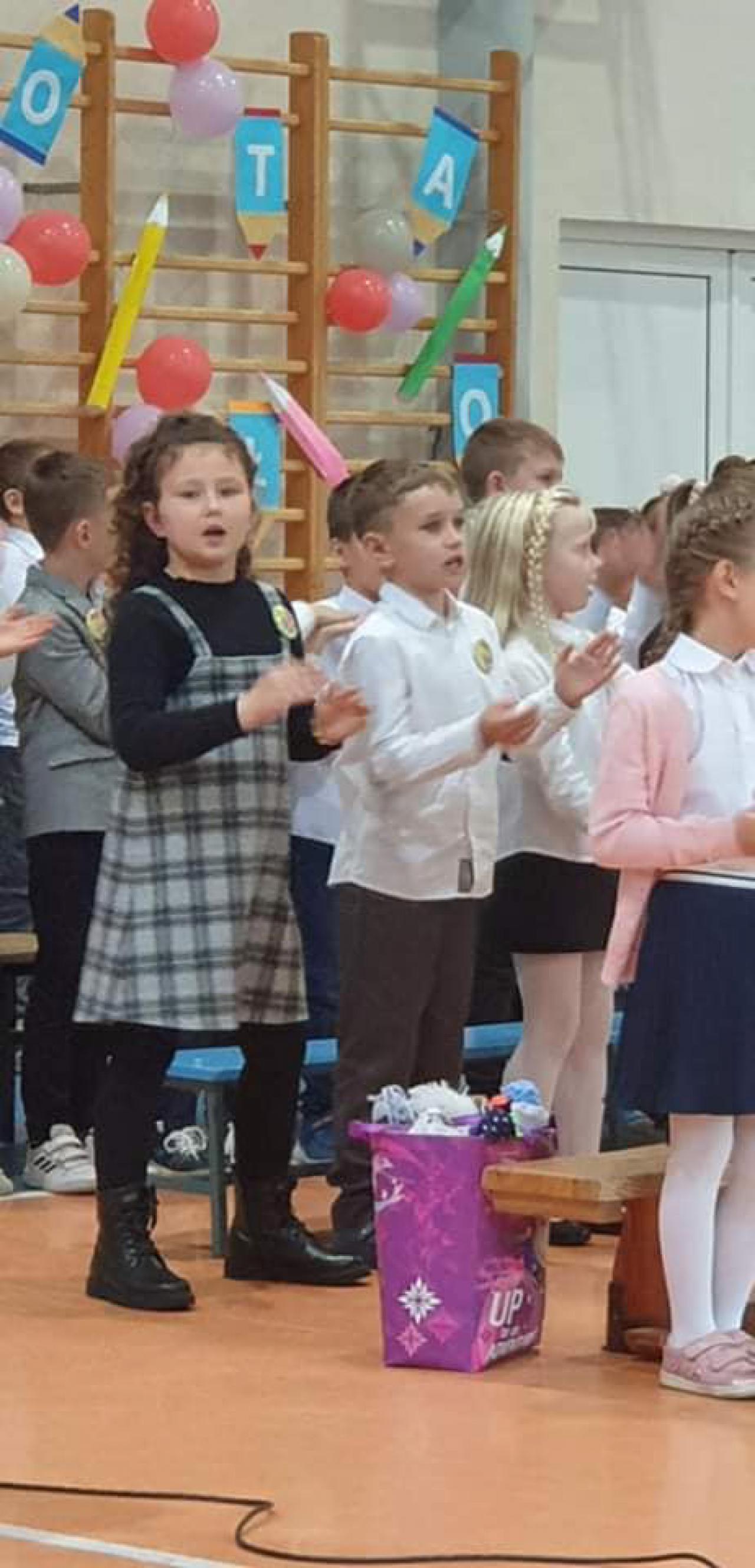Pasowanie na ucznia w Szkole Podstawowej nr 1 im. Pieszyckiej Harcerskiej Organizacji Podziemnej