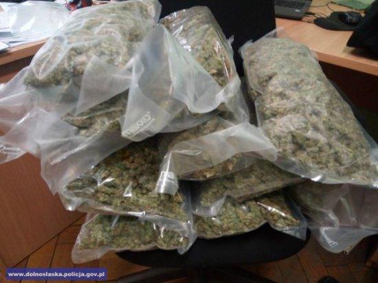 W sumie zabezpieczonych zostało ponad 5 kg marihuany