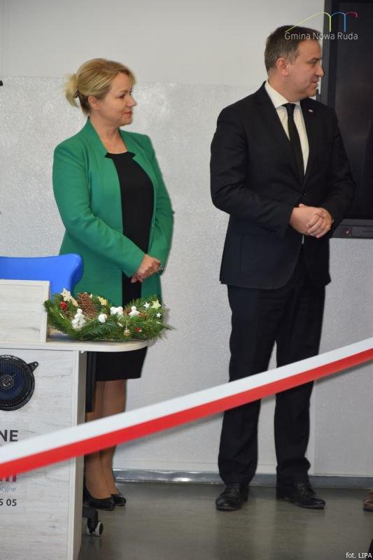 Otwarcie klasopracowni językowej i świetlicy w szkole w Jugowie